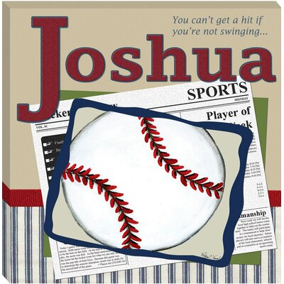 Baseball in the News Giclee - Personalized