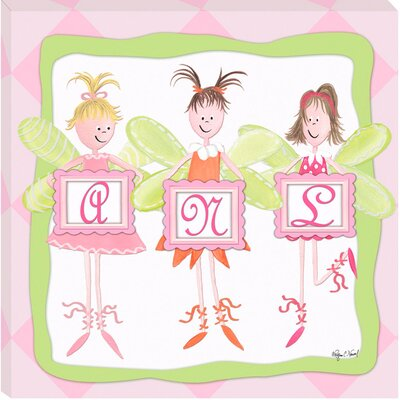 Doodlefish Fairy Monogram Giclee