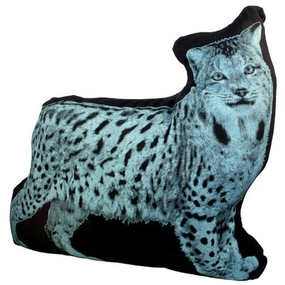 Fauna Mini Organic Cotton Lynx Cushion