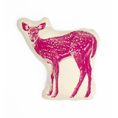 Fauna Picos Organic Cotton Fawn Pillow