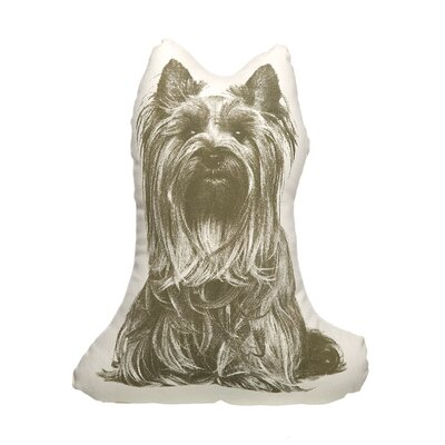 Fauna Organic Cotton Yorkshire Terrier Pillow