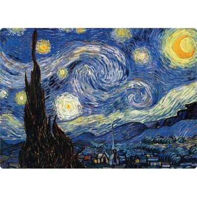 "Magic Slice 5"" x 7"" Starry Night Design Cutting Board"
