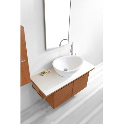 "Virtu Porter 47.2"" Single Bathroom Vanity Set"
