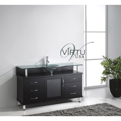 "Virtu Vincente 55"" Bathroom Vanity Set"