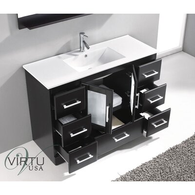 "Virtu 47.8"" Single Bathroom Vanity Set"
