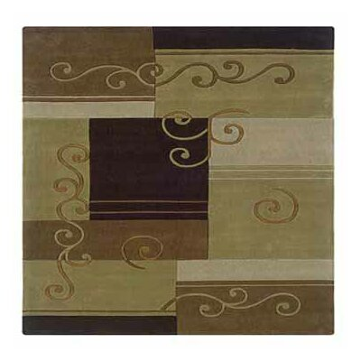 Linon Rugs Trio Beige/Brown Rug
