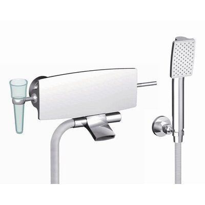 Fima by Nameeks De Soto Wall Mount Tub Only Faucet with Handshower