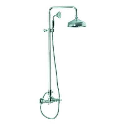 Fima by Nameeks Elizabeth Wall Mount Thermostatic Shower Faucet with Hand Shower