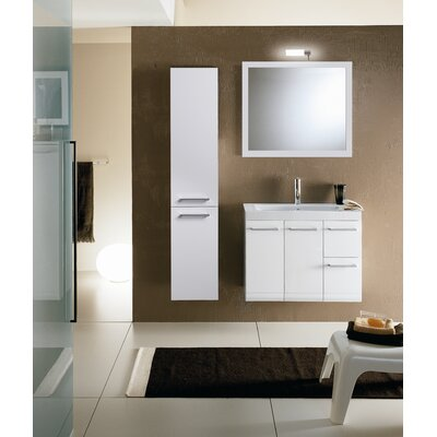 "Iotti by Nameeks Linear LE3 30.4"" Wall Mounted Bathroom Vanity Set"