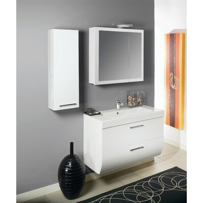 "Iotti by Nameeks New Day NN1 30.4"" Wall Mounted Bathroom Vanity Set"