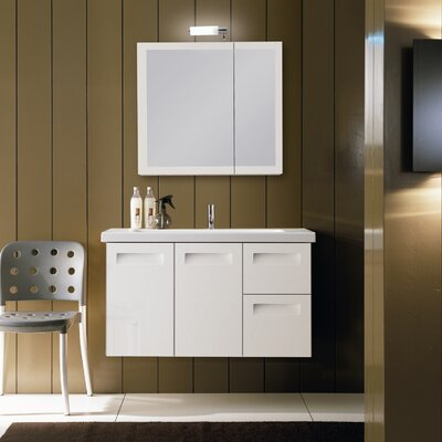 "Iotti by Nameeks Integral NG3 38.3"" Wall Mounted Bathroom Vanity Set"