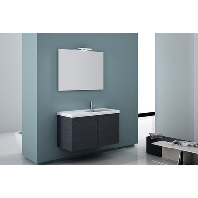 "Iotti by Nameeks Space 39"" Wall Mount Bathroom Vanity Set"