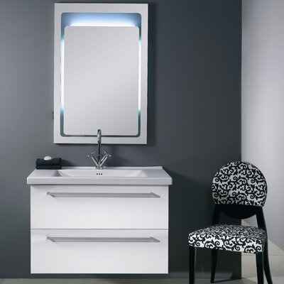 "Iotti by Nameeks Fly 35.8"" Wall Mounted Bathroom Vanity Set"