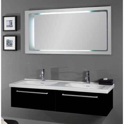 "Iotti by Nameeks Fly 55.5"" Bathroom Vanity Set"