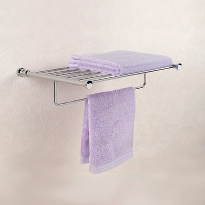Windisch by Nameeks Cylinder Towel Holder with Shelf