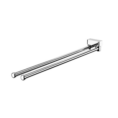 "Geesa by Nameeks BloQ 16.1"" Towel Bar in Chrome"