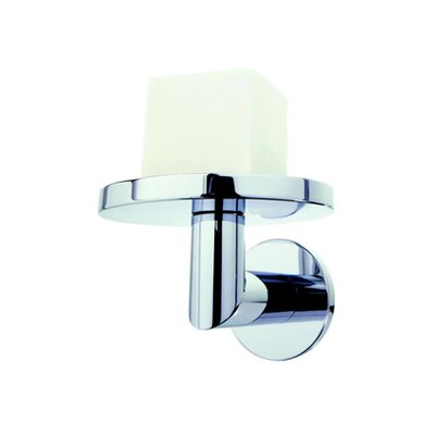 Geesa by Nameeks Circles Wall Mounted Soap Holder in Chrome