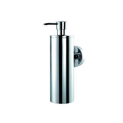 Geesa by Nameeks Circles Wall Mounted Soap Dispenser in Chrome