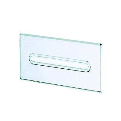 Geesa by Nameeks Standard Hotel Recessed Tissue Box Holder in Stainless Steel