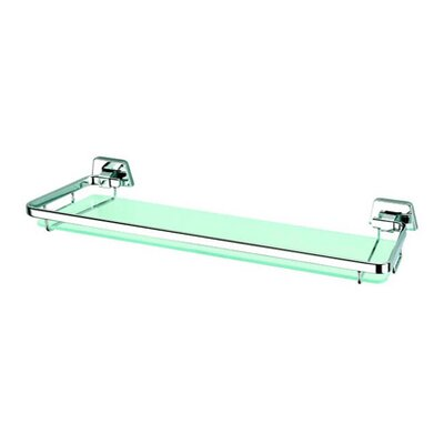 "Geesa by Nameeks Standard Hotel 14.7"" Shelf Holder in Chrome"