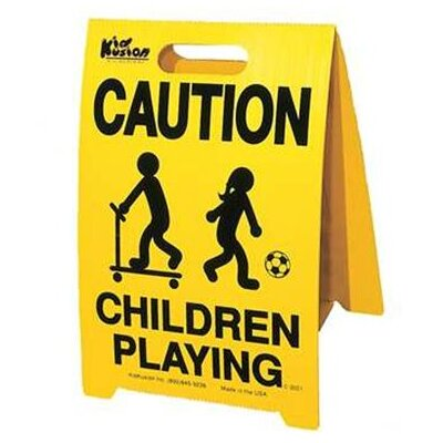 Kid Kusion Driveway Safety Sign (Set of 2)