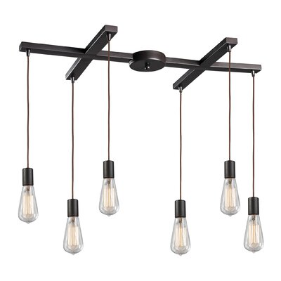 Landmark Lighting Menlow Park 6 Light Pendant