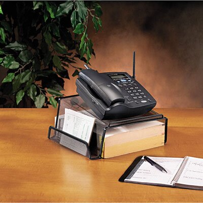 Rubbermaid Rolodex Mesh Telephone Desk Stand