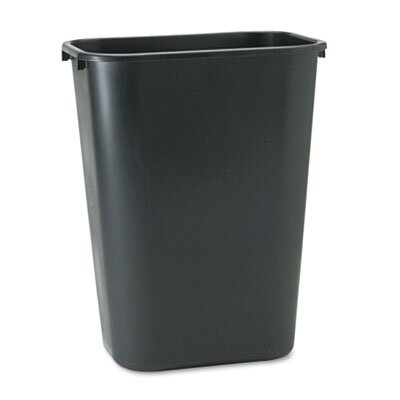 Rubbermaid Commercial Deskside Plastic Wastebasket, 10 1/4 Gal