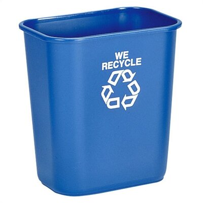 Rubbermaid 'We Recycle' Container