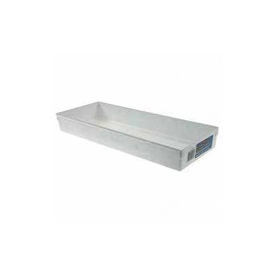 "Rubbermaid 15"" x 6"" Drawer Organizer in White"