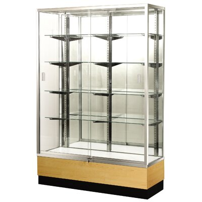 Sturdy Store Displays Streamline 36&quot; x 15&quot; Trophy Case with Panel Back