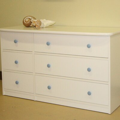 Berg Furniture Sierra Double 6 Drawer Dresser