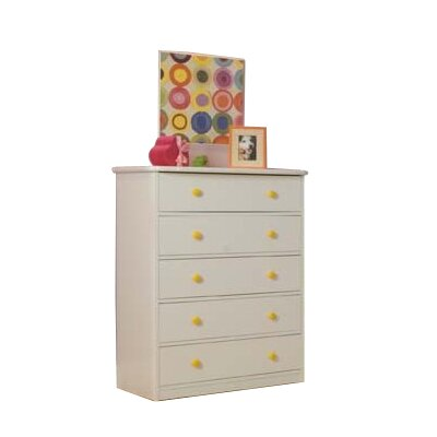 Berg Furniture Sierra 5-Drawer Chest