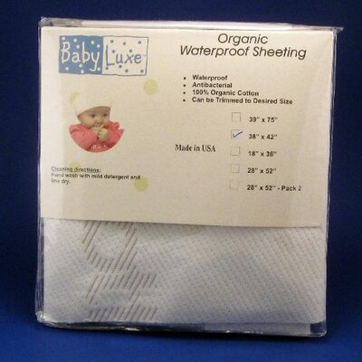Baby Luxe by Priva Organic Waterproof Sheet