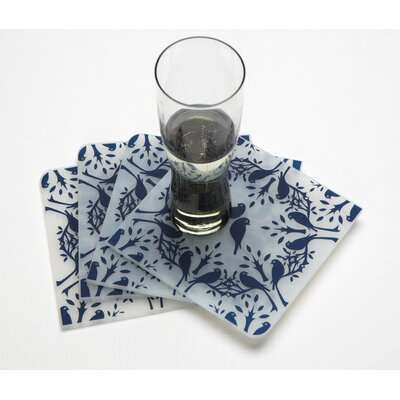 Modern-Twist Coaster Notz  Birds n Trees Coasters (Set of 4)