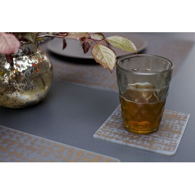 Modern-Twist Coaster Notz Grain Coasters (Set of 4)