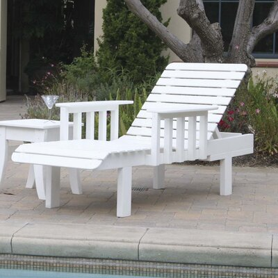 Avalon Slat Chaise Lounge
