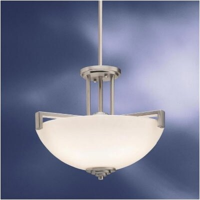 Kichler Eileen 3 Light Semi Flush Mount