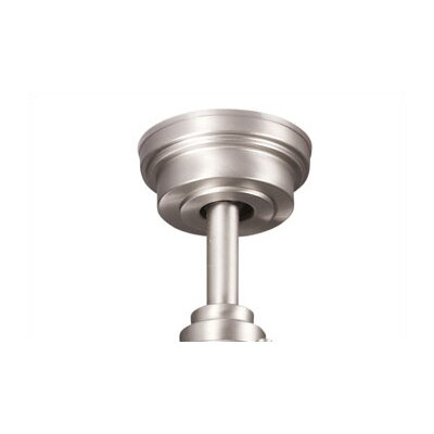 Kichler Ceiling Fan Down Rod in Brushed Nickel