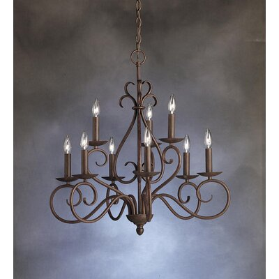 Kichler Norwich 9 Light Chandelier