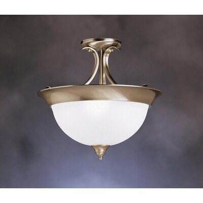 Dover 3 Light Semi Flush Mount