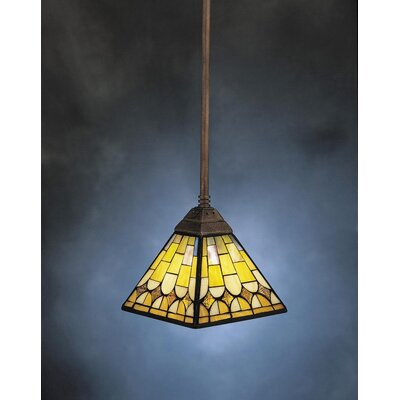 Pompeian Mosaics 1 Light Mini Pendant