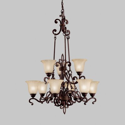 Kichler Wilton 9 Light Chandelier
