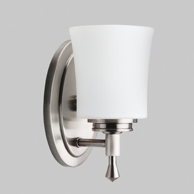 Wharton Vanity Light in Brushed Nickel