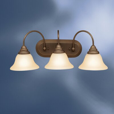 Telford Vanity Light in Olde Bronze