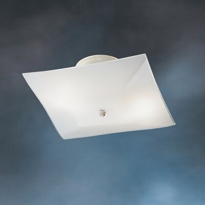 Kichler Ceiling Space Square 2 Light Flush Mount
