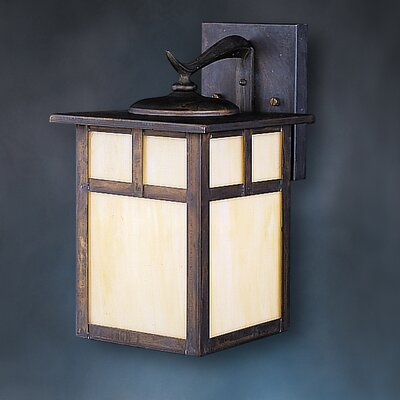 "Kichler Canyon View 14.5"" Outdoor Fluorescent Wall Lantern"