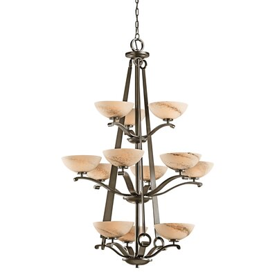 Kichler Garland 12 Light Chandelier