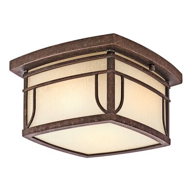 Kichler Riverbank 2 Light Flush Mount