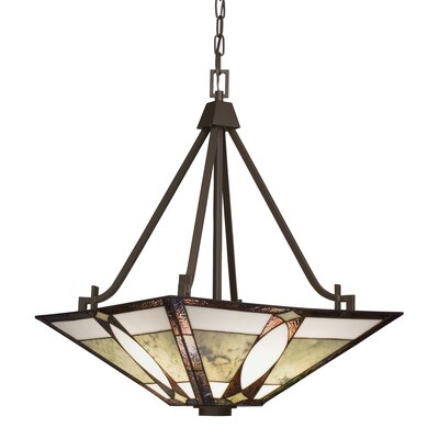 Denman 3 Light Inverted Pendant